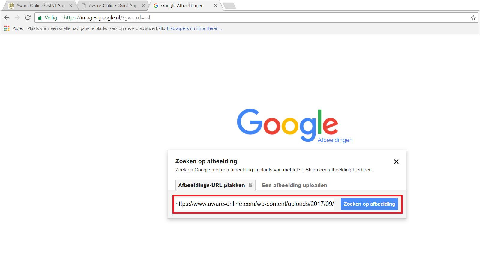 Afbeeldingen Zoeken In Google
