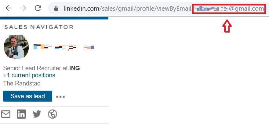 E-mailadres LinkedIn gebruiker achterhalen