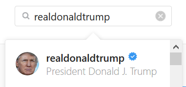 Search by username Instagram